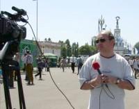 телеведущий Евгений Лезов
