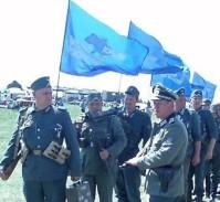военно историческая реконструкция 5 мая 2012 года: фашисты под флагами партии регионов