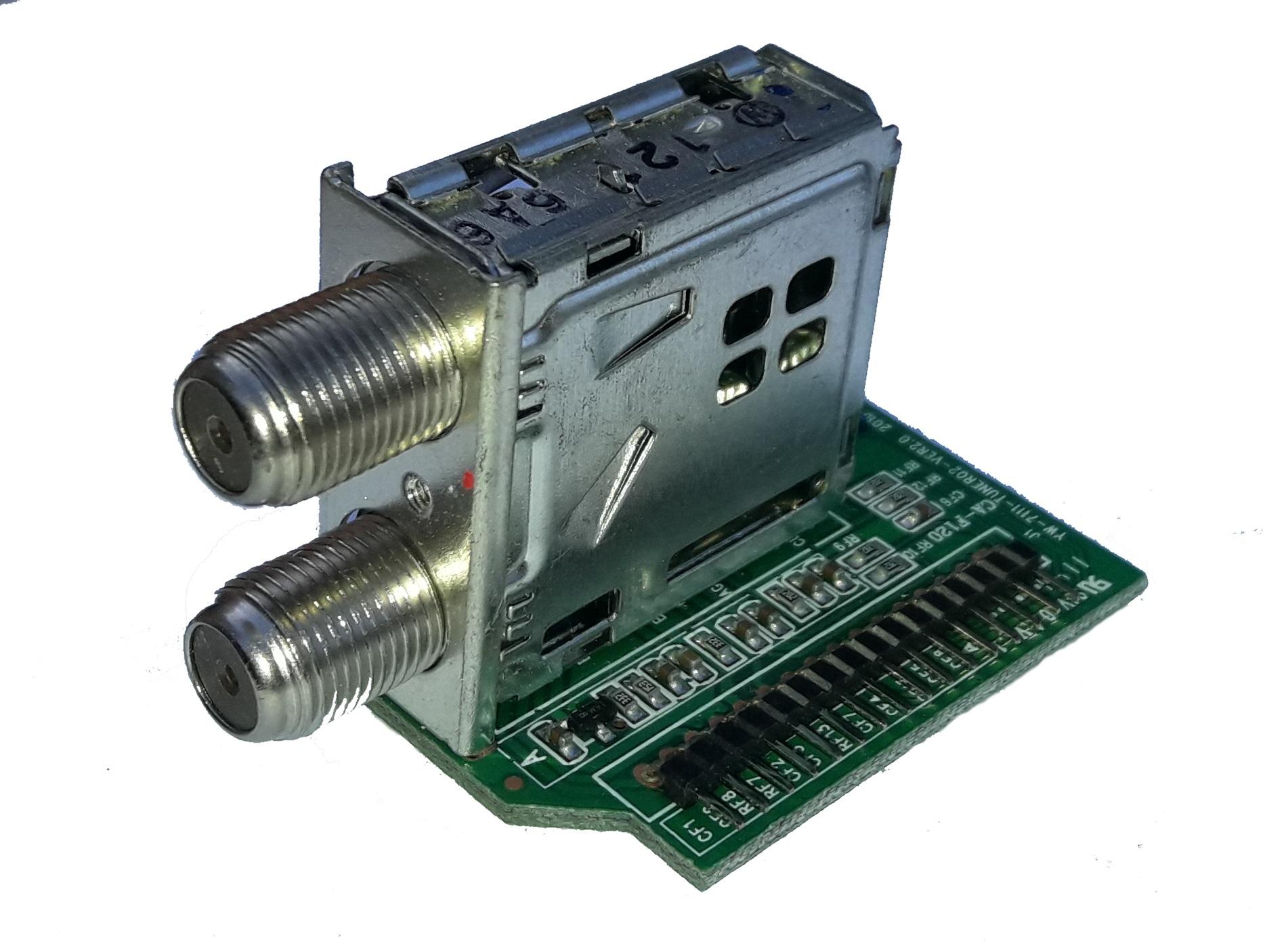 Замена селектора (СВЧ блока) GI-S8120