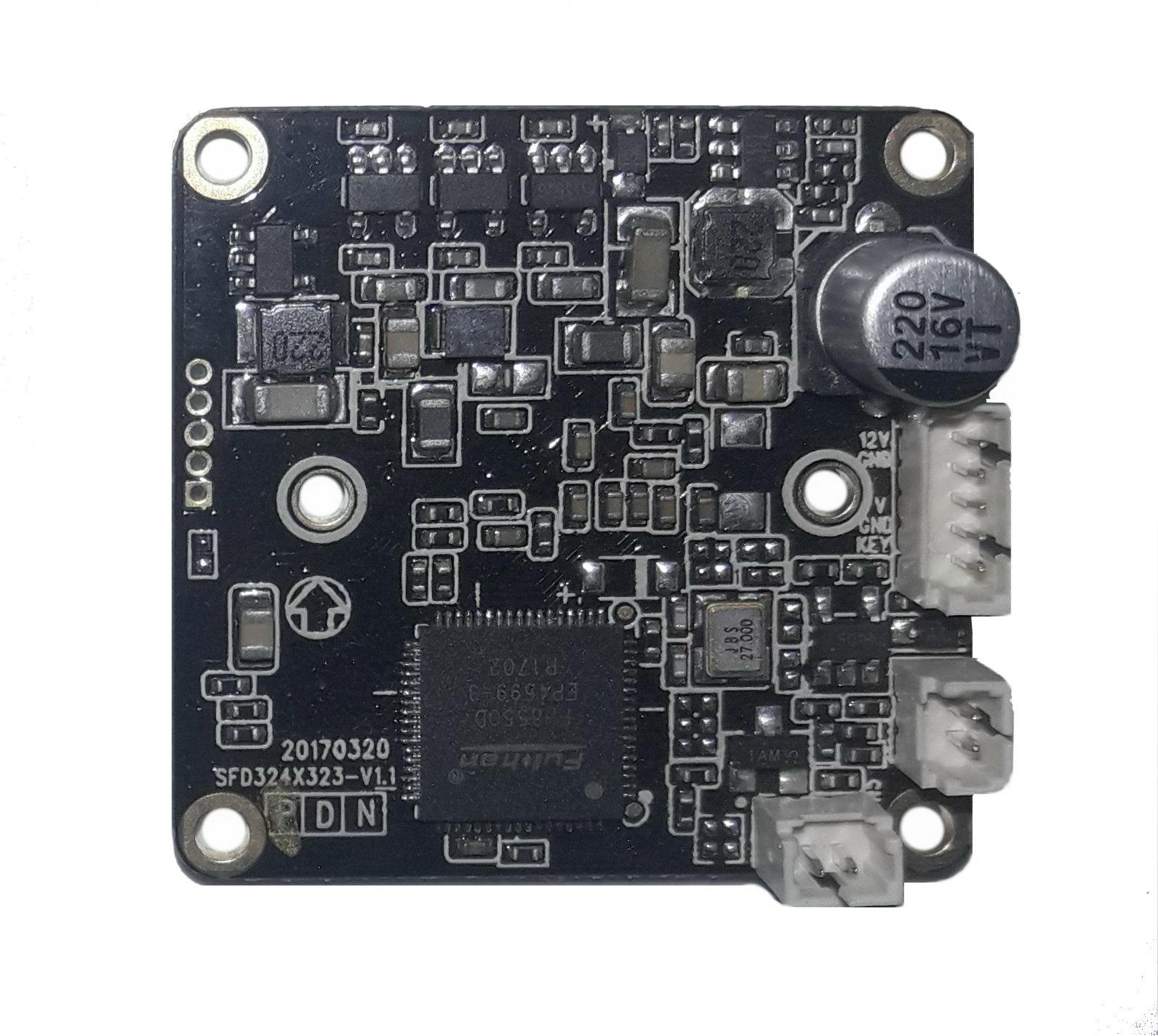 Замена матрицы камеры MT-Vision MT-CVI-S2128WD