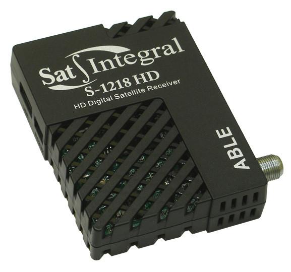 Тюнер Sat Integral S-1218 не реагирует на пульт