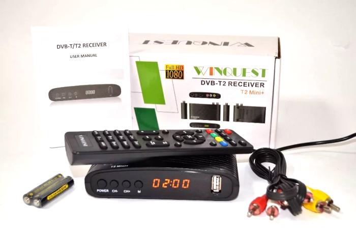 Хит сезона: цифровой эфирный ресивер WinQuest T2 mini+