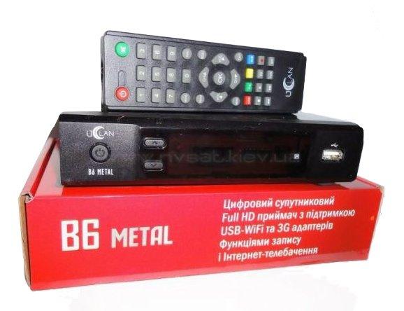 Приставка uClan B6 Metal зависла и не работает