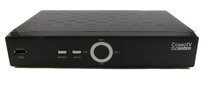 Romsat ComboTV не включается после скачка напряжения