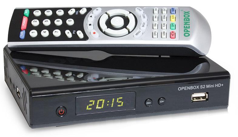 Openbox S2 Mini HD — бегает змейка по табло