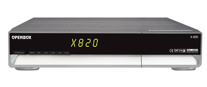 Openbox x-820 CI не включается — блок питания