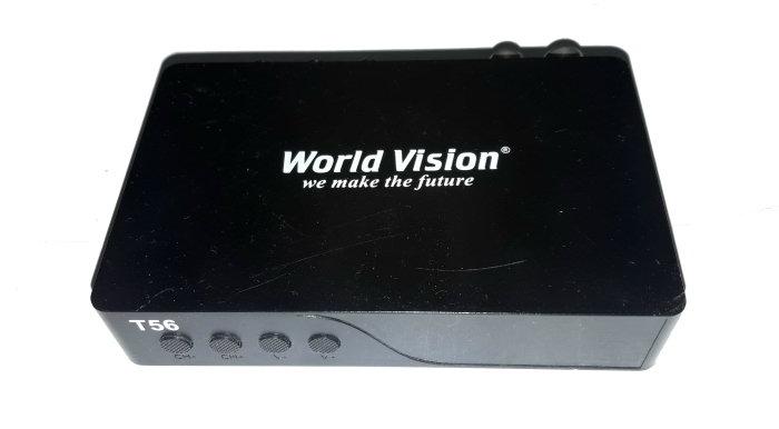 World Vision T56 пропадает сигнал и не включается