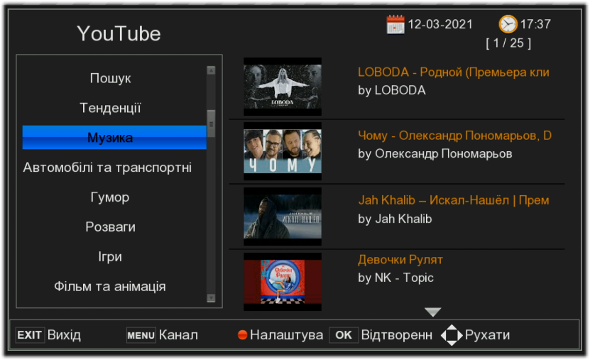 YouTube на WinQuest T2 Mini Plus (файл youtube_apikey.xml)